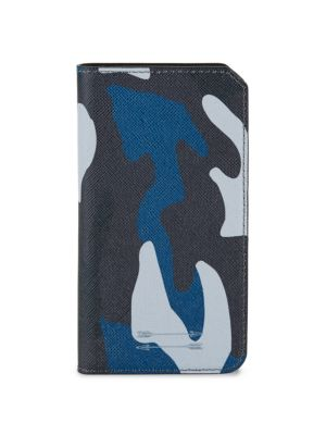 Saffiano Leather Folio iPhone 7 Case