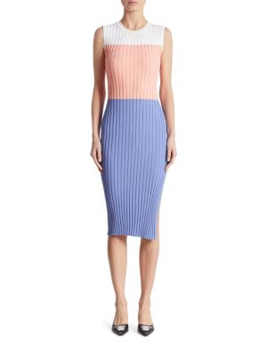 Mariana Knit Colorblock Dress