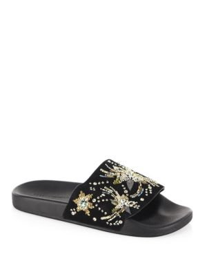 Suzette Embellished Slides