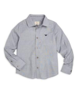 Little Boy's & Boy's Cotton Medi Shirt