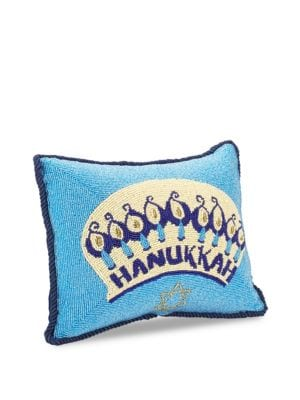 Fully Beaded Pillow