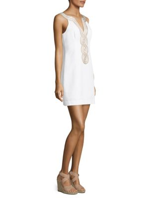 Valli Cotton Shift Dress