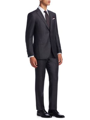 Milano Slim-Fit Wool Suit