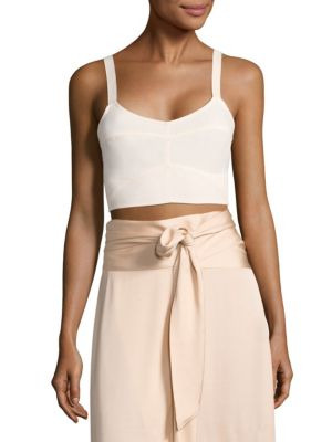 Chandler Cutout Bralette Top by Elizabeth and James