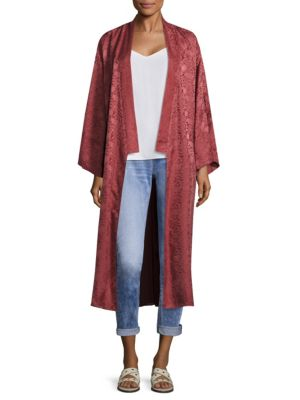 Tracey Embroidered Kimono Jacket