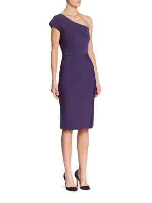 Brattle One Shoulder Dress