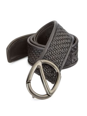 Leather Buckled Belt