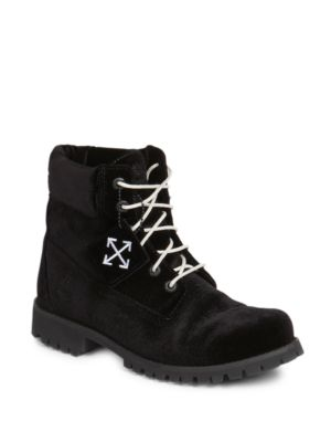 Men's Timberland Leather Lace-up Boots