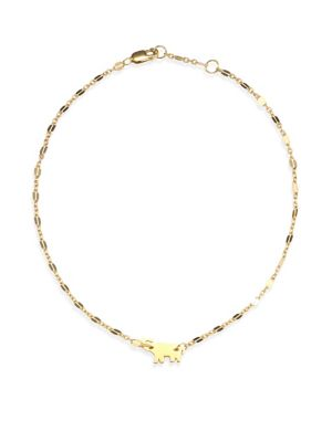 Delaney Elephant Anklet