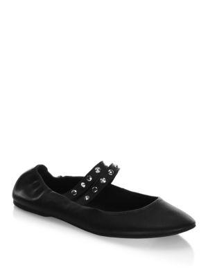 Lori Leather Ballet Flats