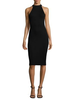 Iman Ribbed Bodycon Dress