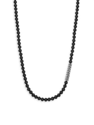 Silver Classic Bead Necklace