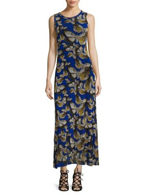 Mariposa Print Dress