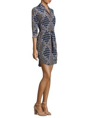 Stella Paisley-Print Shirt Dress