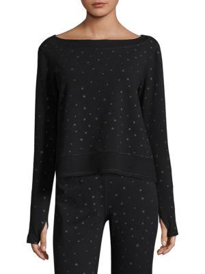 NANCY ROSE PERFORMANCE Vega Cotton Sweatshirt