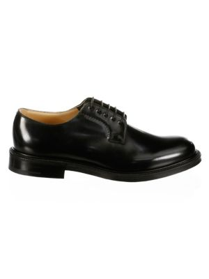 Shannon Lace-Up Leather Oxfords