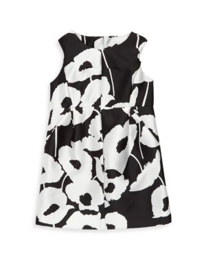 Girl's Poppy Floral Print Coco Dress
