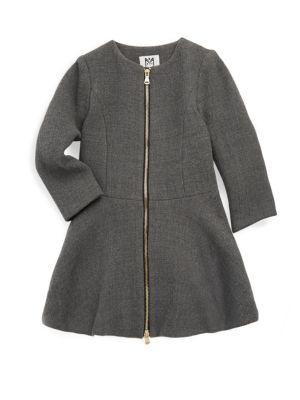 Girl's Emma Double-Faced Coat
