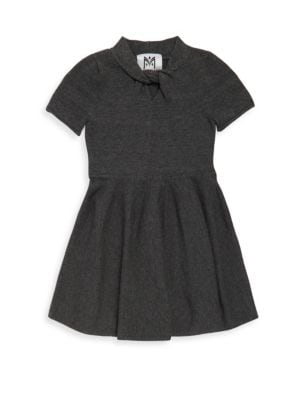 Girl's Twist Flare Dress