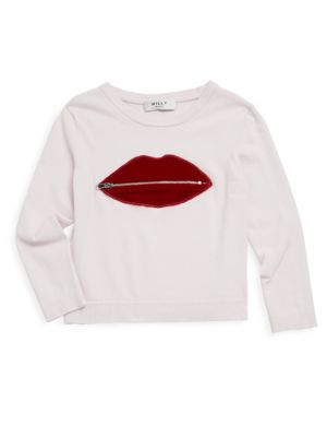 Girl's Long-Sleeve Pullover Top