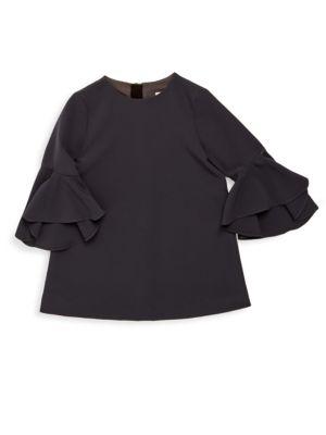 Girl's Cady Nicola Bell Sleeve Dress