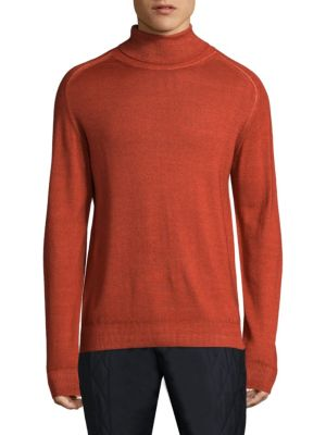 Long-Sleeve Wool Sweatshirt