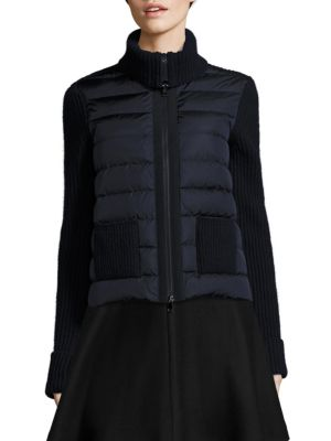 Quilted Maglione Jacket