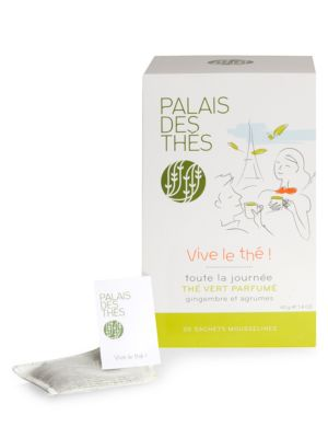 Vive Le Thé Ginger & Citrus Green Tea