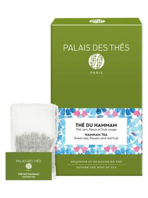 Thé Du Hammam Green Tea- Berries, Orange Flower Water & Dates