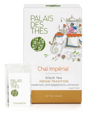 Chai Impérial Black Tea - Cardamom, Peppercorns, Cinnamon & Ginger