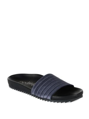 Amparo Satin Slides