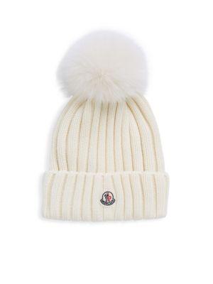 Berretto Fur Pom Hat