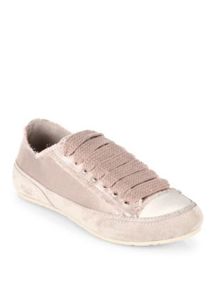 Parson Tonal Satin Low Top Sneakers