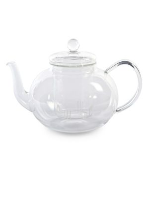 Miko Glass Tea Pot With Internal Strainer