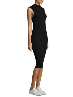 Rib Sleeveless Dress by ATM Anthony Thomas Melillo