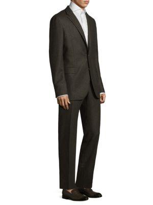 Alton Notch Wool Suit