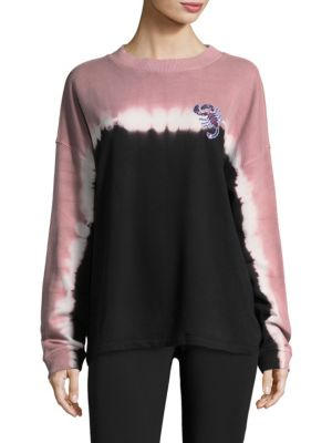 Desert Dyed Cotton Sweatshirt by Opening Ceremony