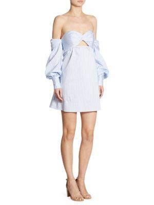 Trista Strapless Off-The-Shoulder Dress