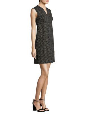 Cotton Dot-Print Dress