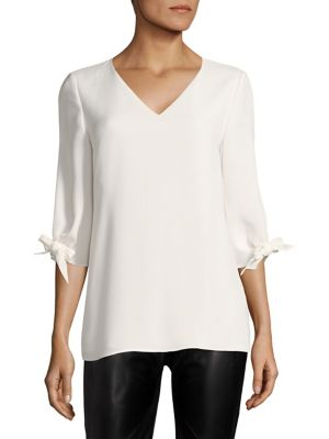 Kenna Silk Blouse