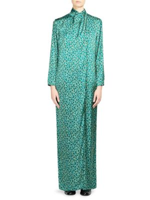 Doree Long Floral Dress