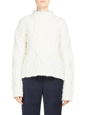 Edyta Cable Sweater