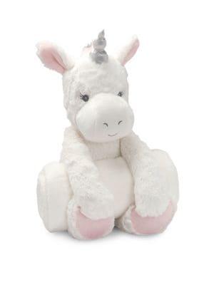 Baby's Bedtime Huggies Unicorn & Blanket Set