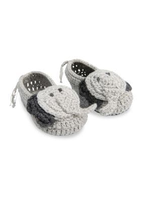 Baby's Crochet Elephant Shoes