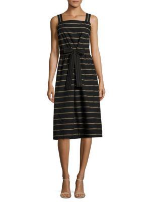 Lorelei Cotton Knee-Length Dress