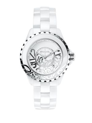 J12 Limited Edition Ceramic & Stainless Steel Bracelet Watch