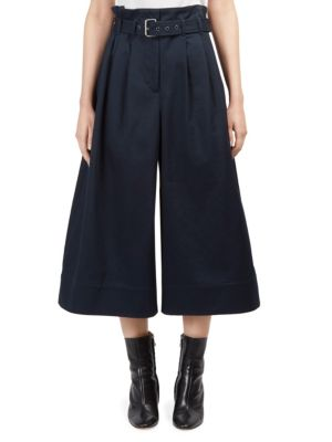 Cotton Belted Culotte