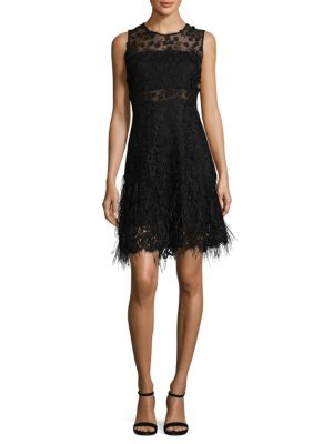 Anabelle Embroidered Lace Dress
