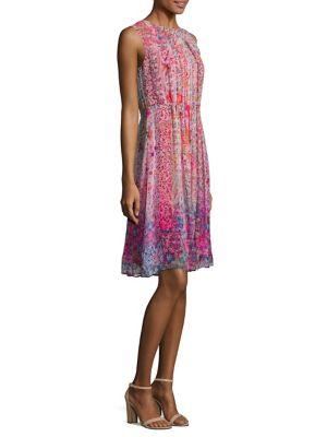 Demetria Silk Dress