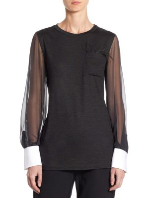 Wool Jersey Top